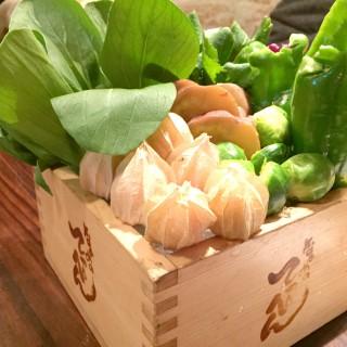 鎌倉野菜・大マス盛り